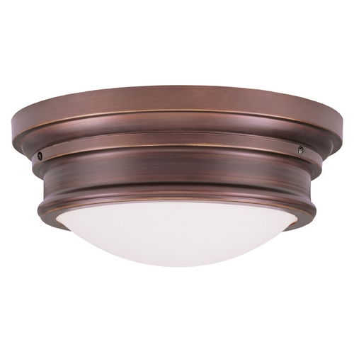 Livex Lighting Livex Lighting Astor Vintage Bronze Flushmount Light 7343-70