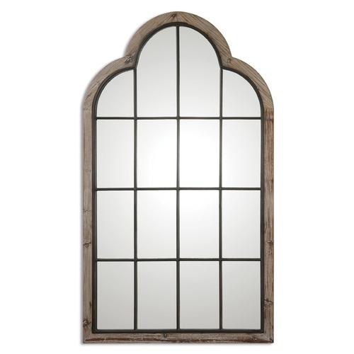 Uttermost Lighting Uttermost Gavorrano Oversized Arch Mirror 09524