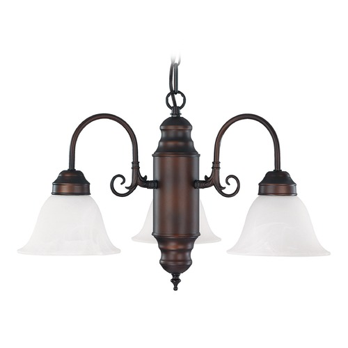 Capital Lighting Capital Lighting Burnished Bronze Mini-Chandelier 3253BB-118