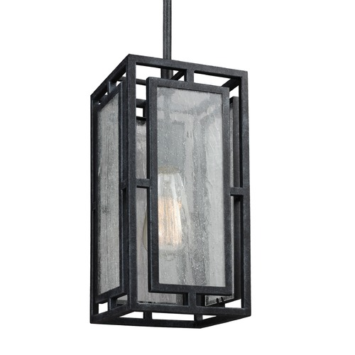 Feiss Lighting Feiss Prairielands Dark Weathered Zinc Mini-Pendant Light P1376DWZ