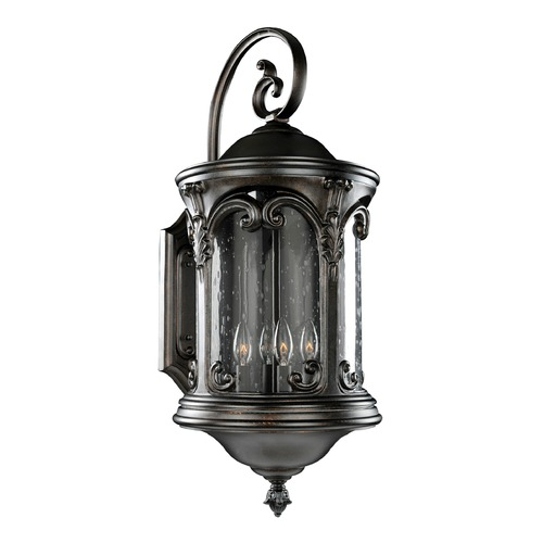 Kalco Lighting Kalco Shorecrest Burnished Bronze Outdoor Wall Light 401322BB