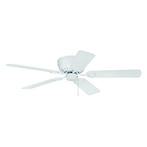 Craftmade Lighting Craftmade Lighting Pro Universal Hugger White Ceiling Fan Without Light K11244
