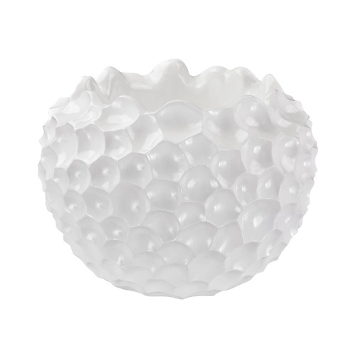 Dimond Home Dimond Home Vivo Coral Texture Vessel In White 9166-027
