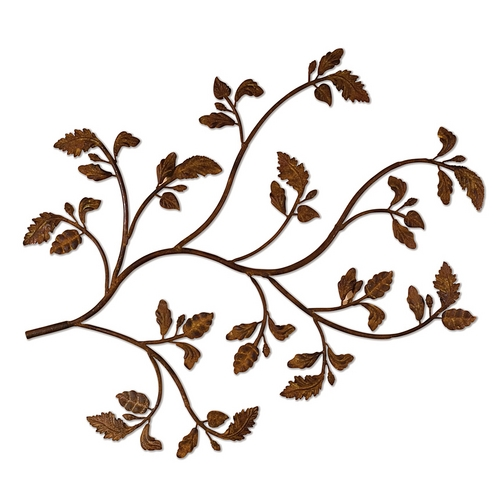 Uttermost Lighting Wall Art in Distressed Brown Rust Finish 13435