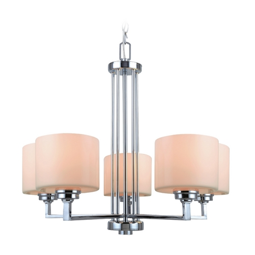 Lite Source Lighting Lite Source Lighting Darra Chrome Chandelier LS-19165
