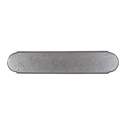 Top Knobs Hardware Push Plate in Pewter Finish M896