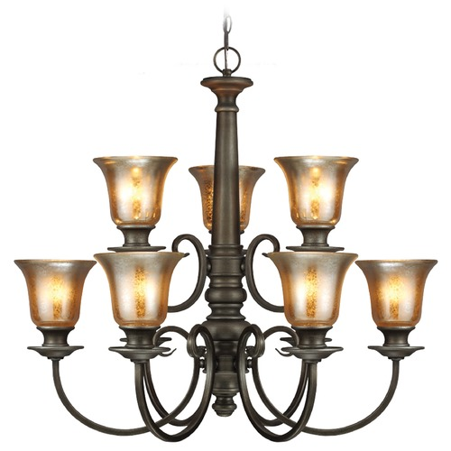 Sea Gull Lighting Sea Gull Lighting Blayne Platinum Oak Chandelier 3170409-736