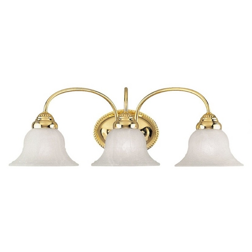 Livex Lighting Livex Lighting Edgemont Polished Brass Bathroom Light 1533-02