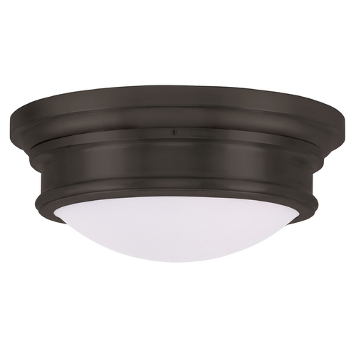 Livex Lighting Livex Lighting Astor Bronze Flushmount Light 7343-07