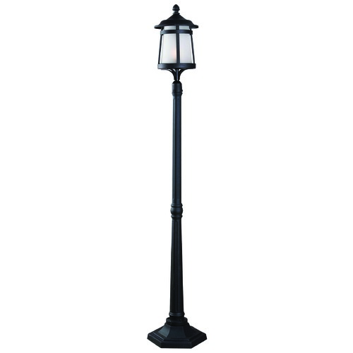 Kenroy Home Lighting Kenroy Home Lighting Portable Post Black Post Light 93431BL