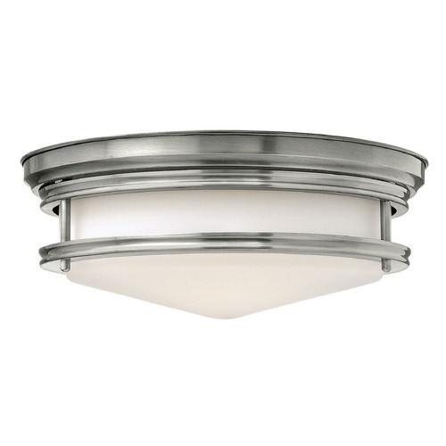 Hinkley Lighting Hinkley Lighting Hadley Antique Nickel Flushmount Light 3301AN-GU24