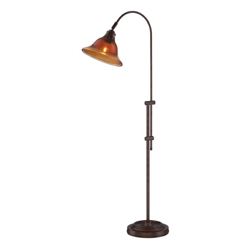 Lite Source Lighting Lite Source Lorretta Rust Arc Lamp with Bell Shade LS-82782