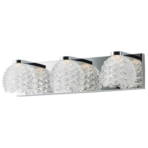 Maxim Lighting Maxim Lighting Fringe Polished Chrome LED Bathroom Light 9063CWPC