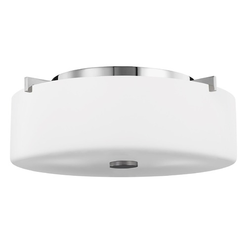 Sea Gull Lighting Sea Gull Lighting Sunset Drive Chrome Flushmount Light FM313CH
