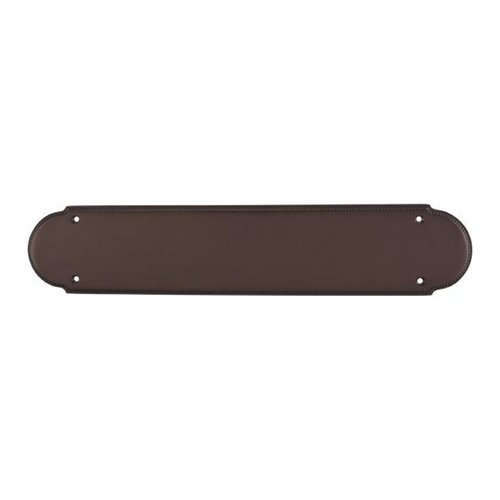 Top Knobs Hardware Push Plate in Oil Rubbed Bronze Finish M897