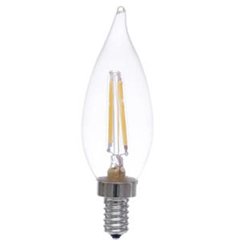 Cleveland Vintage Lighting Edison Flame Candelabra Bulbs: Vintage Edison Style LED Candelabra Light Bulb
