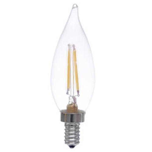 lighting vintage edison style led candelabra light bulb 40 watt. Black Bedroom Furniture Sets. Home Design Ideas