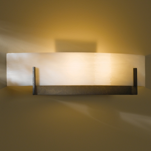 Hubbardton Forge Lighting Hubbardton Forge Lighting Axis Dark Smoke Sconce 206401-07-B324