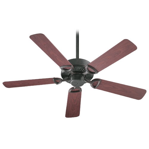 Quorum Lighting Quorum Lighting Estate Patio Toasted Sienna Ceiling Fan Without Light 143525-44