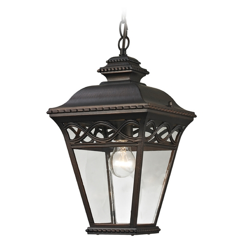 Cornerstone Lighting Cornerstone Lighting Mendham Hazelnut Bronze Outdoor Hanging Light 8511EH/70