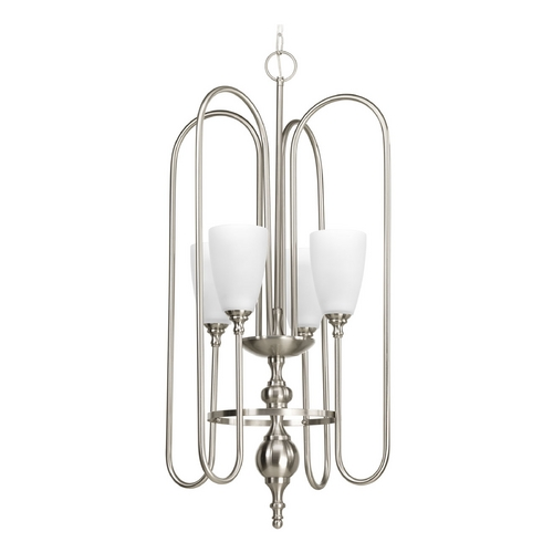 Progress Lighting Progress Lighting Revive Brushed Nickel Pendant Light P4227-09