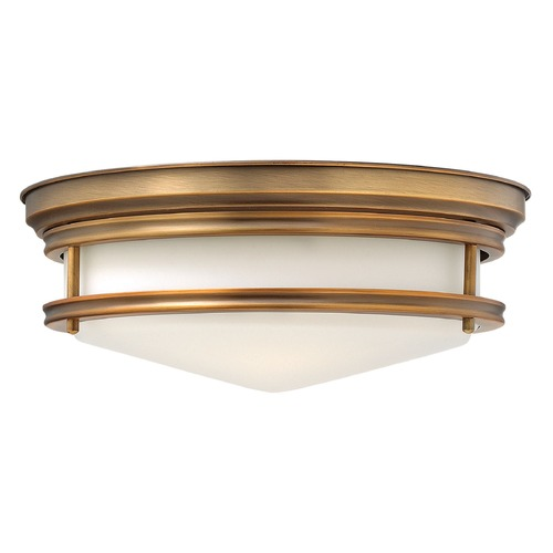 Hinkley Lighting Hinkley Lighting Hadley Brushed Bronze Flushmount Light 3301BR-GU24