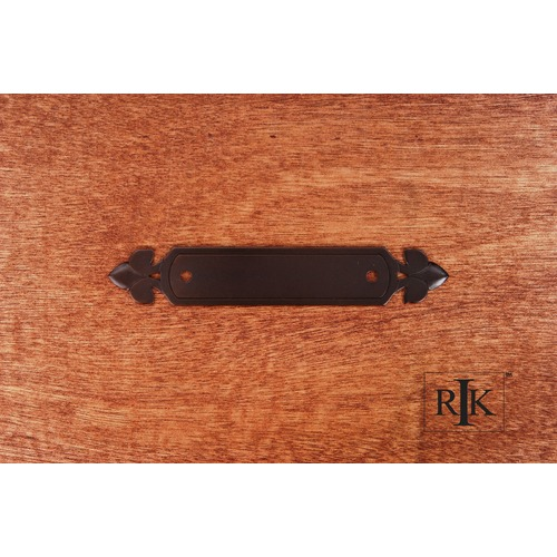 RK International Backplate with Spade Ends BP7905RB