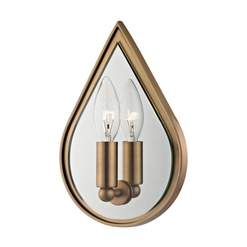 Hudson Valley Lighting Hudson Valley Lighting Andes Aged Brass Sconce 9900-AGB