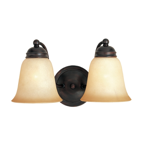 Maxim Lighting Maxim Lighting Basix Oil Rubbed Bronze Bathroom Light 2121WSOI