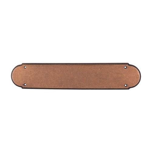 Top Knobs Hardware Push Plate in Old English Copper Finish M898