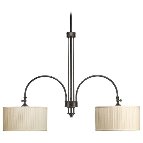 Progress Lighting Progress Drum Island Light in Espresso Finish P4400-84