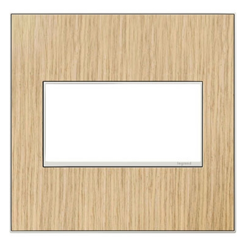 Legrand Adorne Legrand Adorne French Oak 2-Gang Switch Plate AWM2GFH4