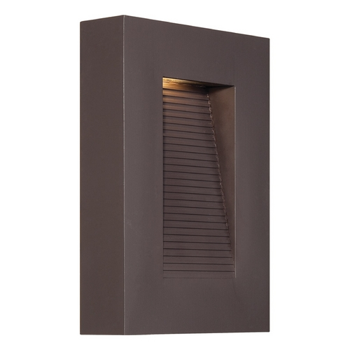 Modern Forms by WAC Lighting Modern Forms Urban Bronze LED Outdoor Wall Light WS-W1110-BZ