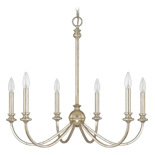 Capital Lighting Capital Lighting Alexander Winter Gold Chandelier 4746WG-000