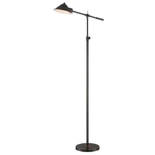 Lite Source Lighting Lite Source Najinca Dark Bronze Swing Arm Lamp with Conical Shade LS-82783