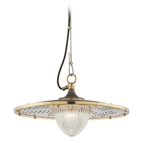 Troy Lighting Troy Lighting Fly Boy Pendant Light with Fluted Shade F4705