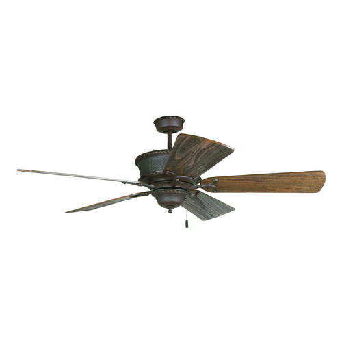 Craftmade Lighting Craftmade Lighting Riata Aged Bronze Textured Ceiling Fan Without Light K11248