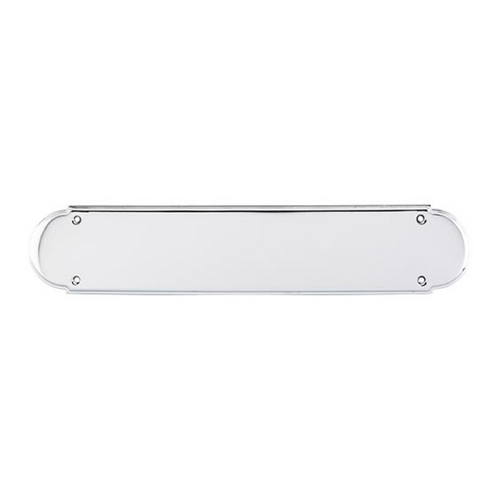 Top Knobs Hardware Push Plate in Polished Chrome Finish M899