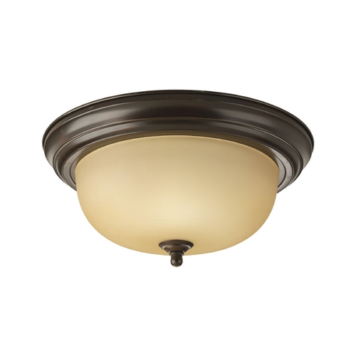 Progress Lighting Progress Flushmount Light in Bronze Finish P3925-20T