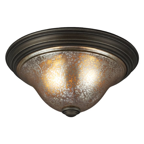 Sea Gull Lighting Sea Gull Lighting Blayne Platinum Oak Flushmount Light 7570402-736