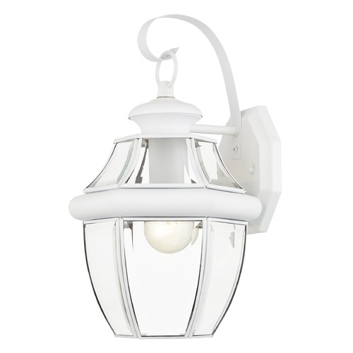Livex Lighting Livex Lighting Monterey White Outdoor Wall Light 2151-03