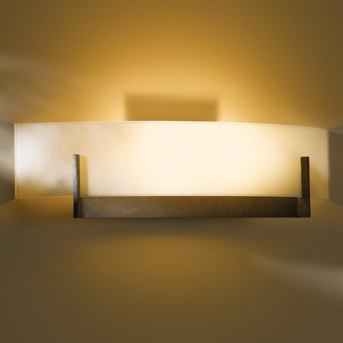 Hubbardton Forge Lighting Hubbardton Forge Lighting Axis Dark Smoke Sconce 206401-07-S324