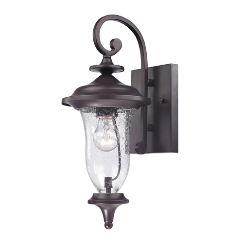 Cornerstone Lighting Cornerstone Lighting Trinity Oil Rubbed Bronze Outdoor Wall Light 8001EW/75