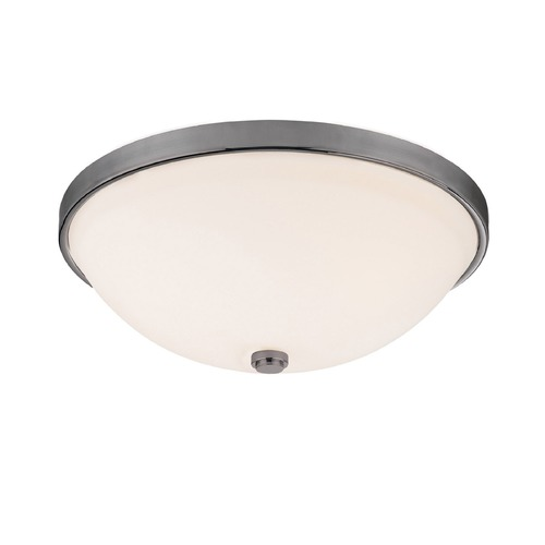 Capital Lighting Capital Lighting Polished Nickel Flushmount Light 2325MN-SW