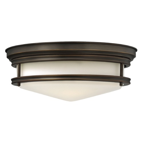 Hinkley Lighting Hinkley Lighting Hadley Oil Rubbed Bronze Flushmount Light 3301OZ-GU24