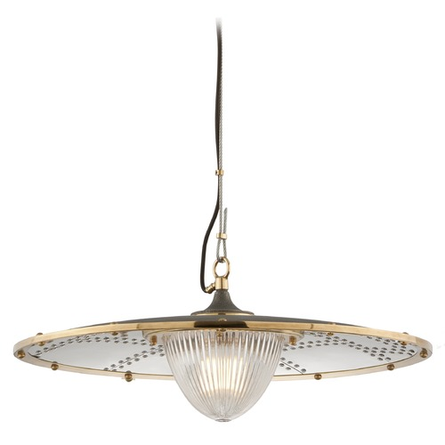 Troy Lighting Troy Lighting Fly Boy Pendant Light with Fluted Shade F4706