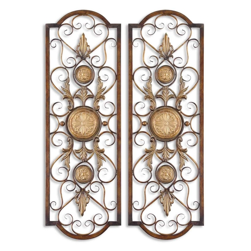 Uttermost Lighting Wall Art in Chestnut Brown Finish 13475