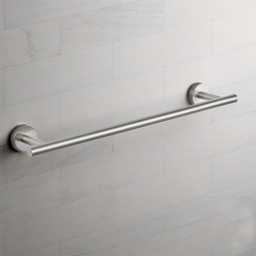 Seattle Hardware Co Seattle Hardware Co Prelude Satin Nickel Towel Bar 18-Inch Center to Center BHW1-18TB-09