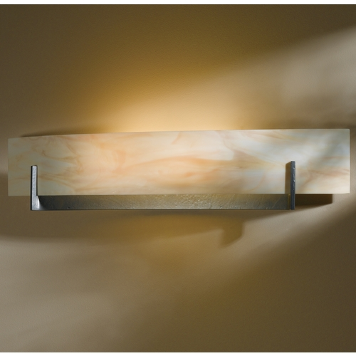 Hubbardton Forge Lighting Hubbardton Forge Lighting Axis Burnished Steel Sconce 206410-SKT-08-AA0328