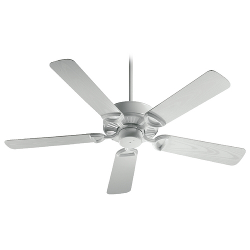 Quorum Lighting Quorum Lighting Estate Patio White Ceiling Fan Without Light 143525-6